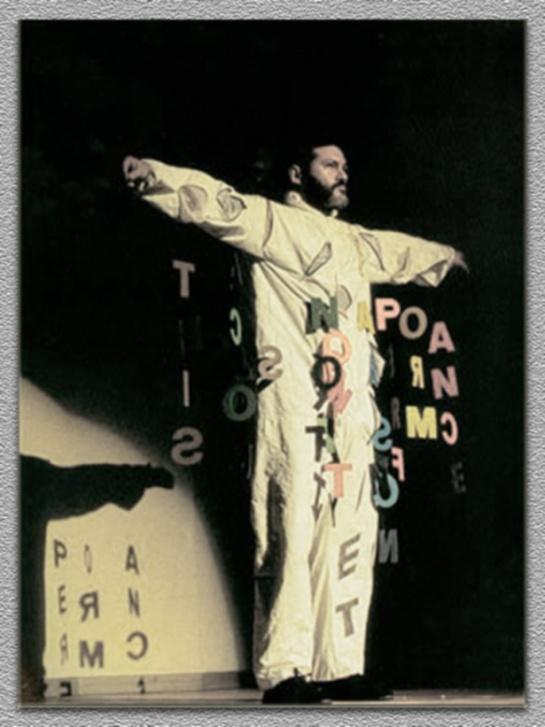 Fernando Aguiar numa performance