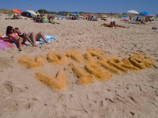 campanha de praia